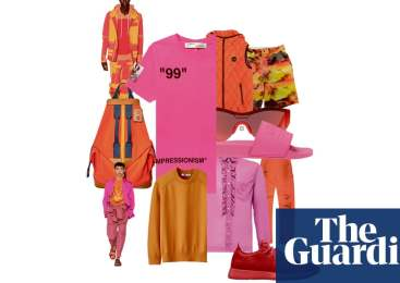 Sunset hip: the best bright menswear – in pictures
