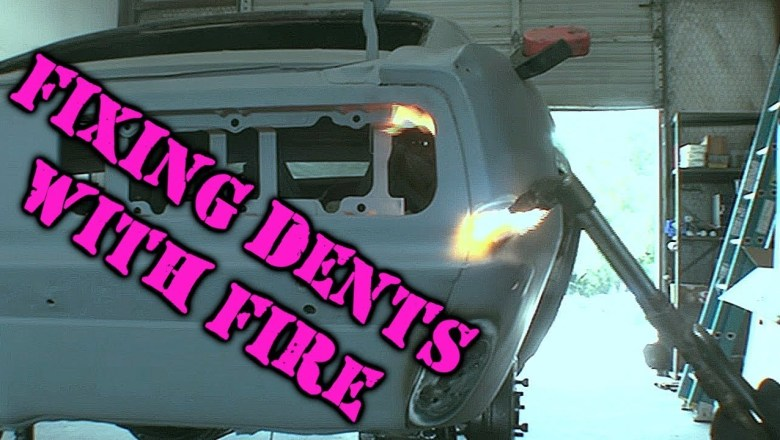 How To Fix Car Dents With FIRE – Automotive Restoration