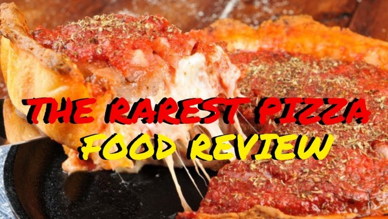 RAREST PIZZA RESTAURANT IN MY CITY   FOOD REVIEW