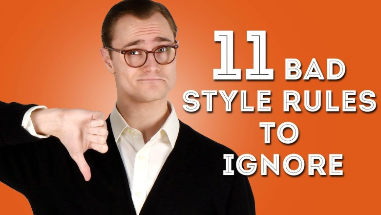 """11 Bad Men's Style """"Rules"""" to Ignore – Disregard These Tips"""