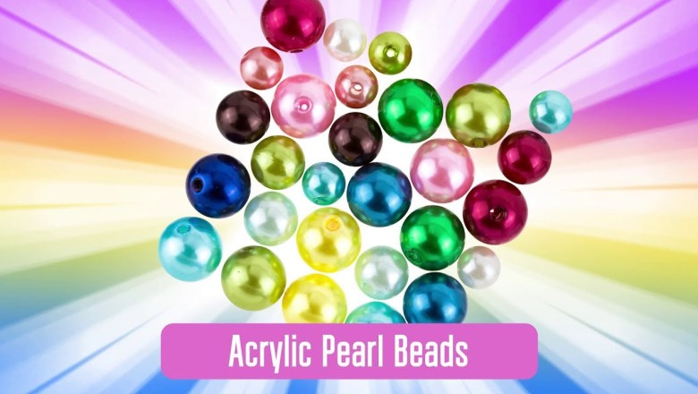 [Product Review] Acrylic Pearl Beads