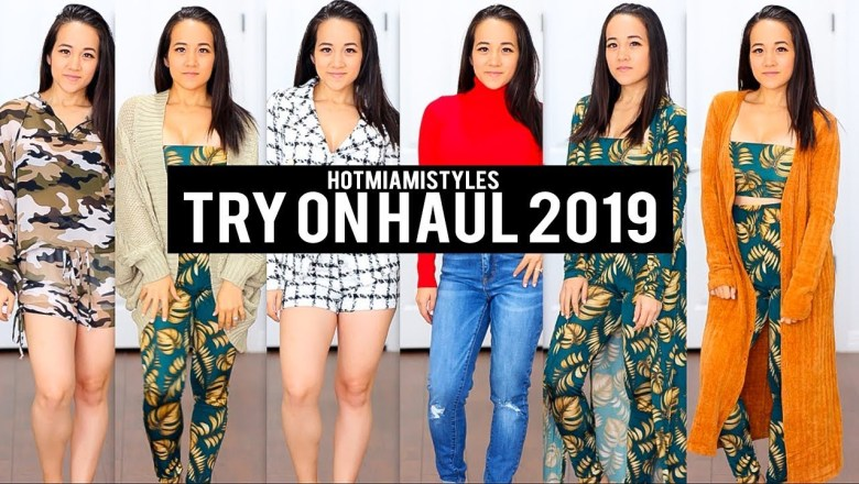 HOT MIAMI STYLES FASHION TRY-ON HAUL + REVIEW! | You NEED These! 😍 | Dee LaVigne