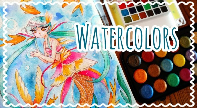 ☆ WATERCOLOR    Product Review + Speedpaint! ☆