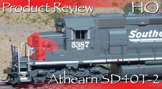 Product Review HO SP DRGW SD40T-2 Tunnel Motor