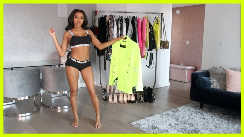 I TRIED STYLING  BRIGHT COLORS! NEON TREND LOOKBOOK