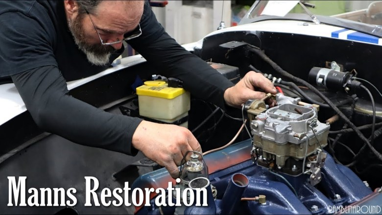 Award-winning Automotive Restoration – Manns Restoration – Festus, MO