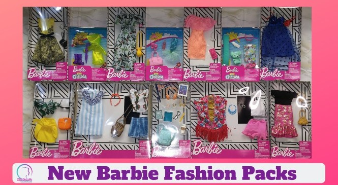 New Barbie | Fashion Packs |  Accessories | Chelsea | Accesorios de Barbie