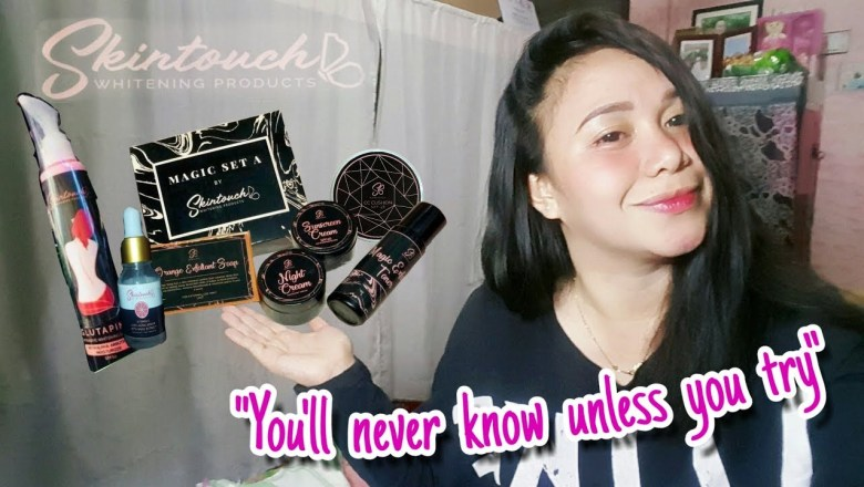 """Product Review Featuring """"SKINTOUCH Whitening Products"""""""