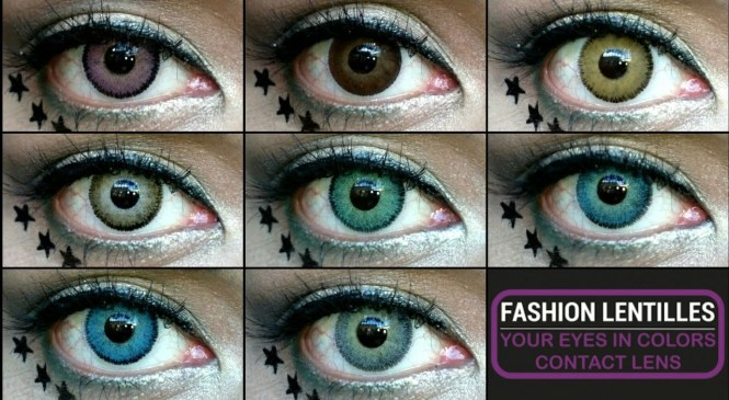 "Fashion Lentilles Contact Lenses Review ""mycolorlenses.com"""