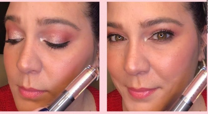 Quick Product Review!  COVER FX Shimmer Veil