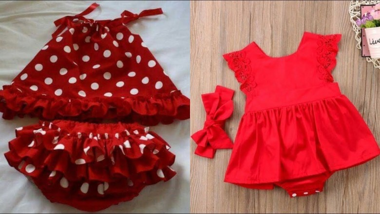 Top Stylish Baby Frock Designing Ideas Fashion Trend 2019