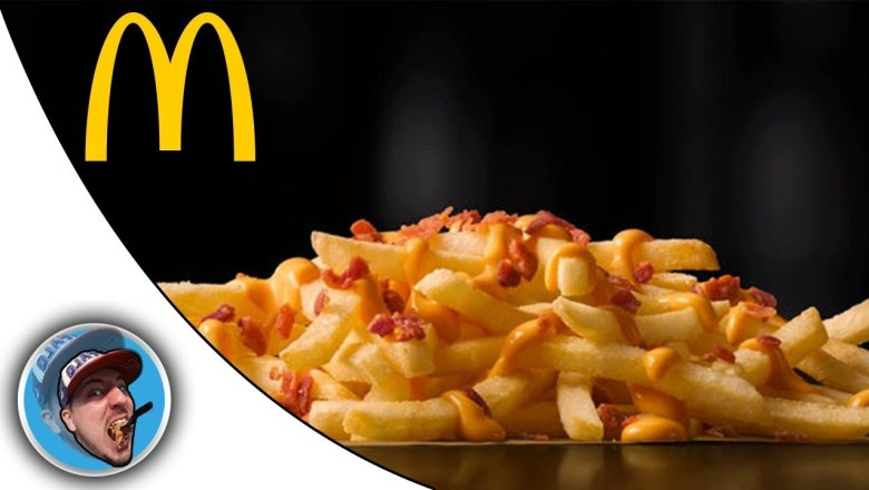 McDonald's Cheesy Bacon Fries! – Food Review!