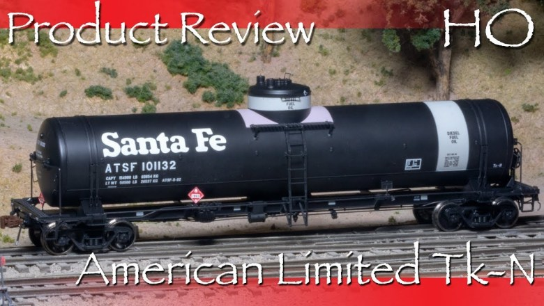 Product Review HO American Limited Santa Fe Tk-N Tank Car
