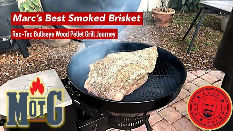 Rec Tec Bullesye Smoker Journey: Product Review and How to Smoke Beef Brisket