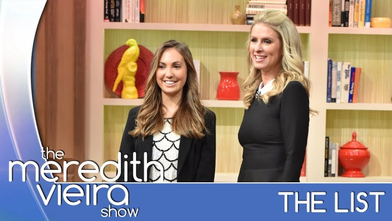 Nicky Hilton Gives Her Favorite Fashion Tip! – #TheList | The Meredith Vieira Show