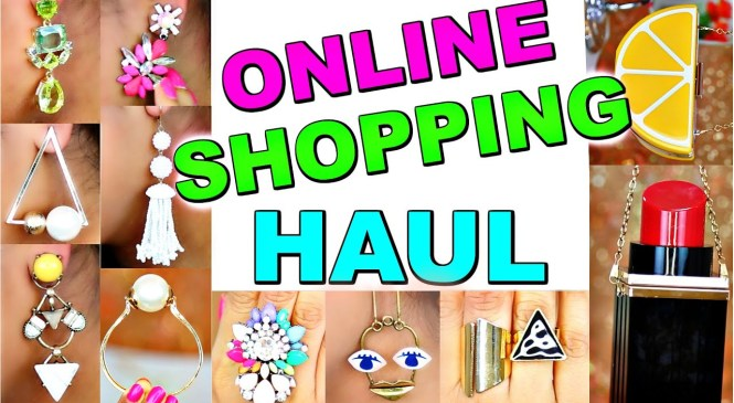 BIG Online Shopping Haul   Trendy Fashion Jewelry Handbags   ShrutiArjunAnand