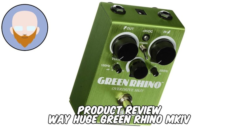 Product Review – Way Huge Green Rhino MkIV Metal Review