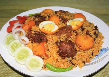 বাসার রান্না: কাচ্চি বিরিয়ানীর সহজ রেসিপি | Kacchi Biriyani | Bangladeshi Food Review