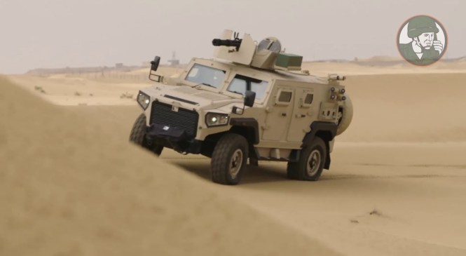 IDEX 2019 NIMR Automotive Launches new AJBAN 447A 4×4 Multi-Role Armoured Vehicle