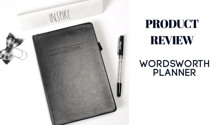 PRODUCT REVIEW: Wordsworth Planner