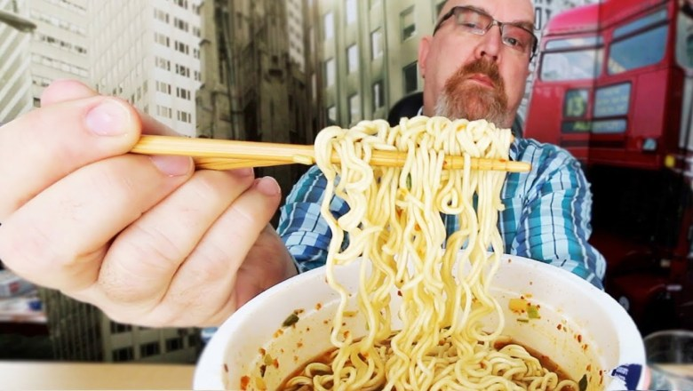 Mr. Noodles 🌶🍜 Hot N' Spicy 🌶🍜 Food Review