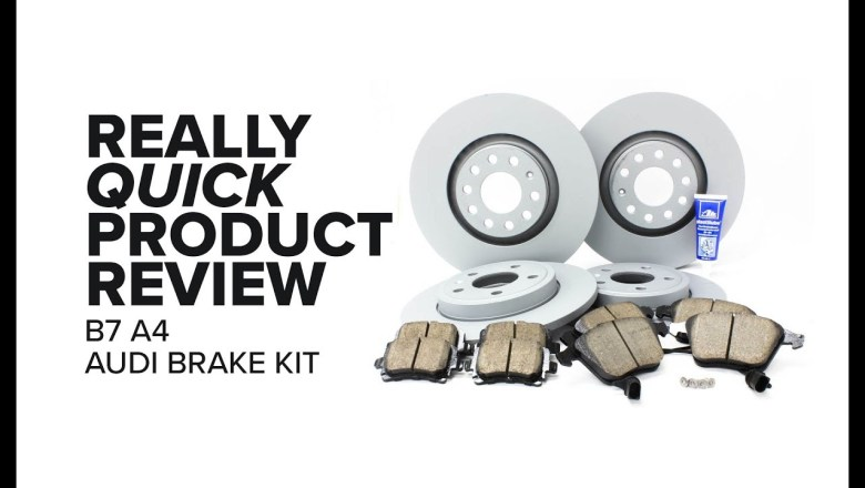 Audi A4 (B7) Brake Kit – Fitment, Benefits, and Product Review