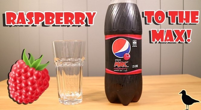 Pepsi Max Raspberry Soft Drink Taste Test Review | Birdew Reviews