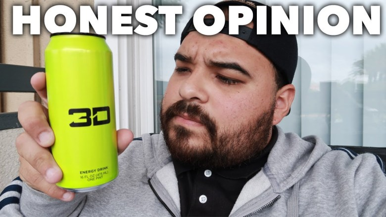 3D ENERGY DRINK REVIEW | HONEST OPINION