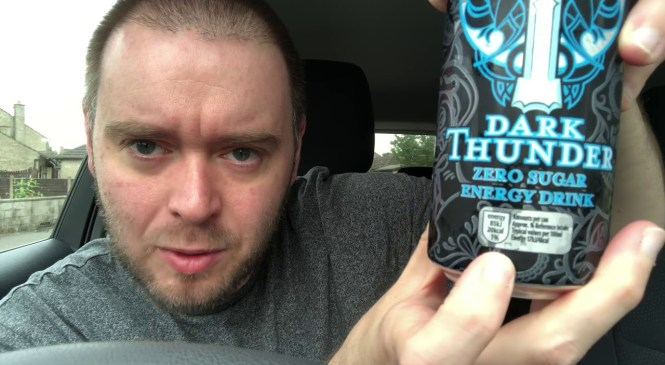Aldi Dark Thunder Zero Blast Energy Drink Review
