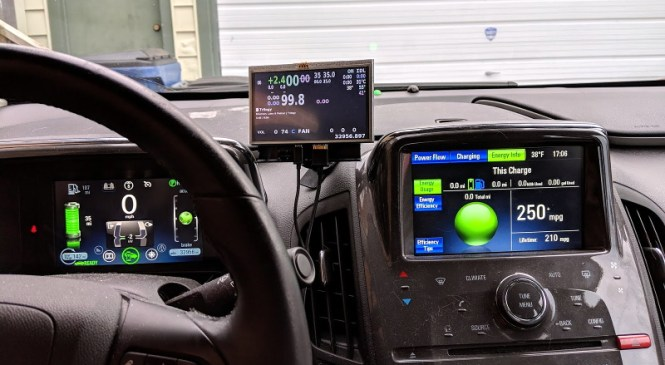 Juicing Up the Chevy Volt with Raspberry Pi