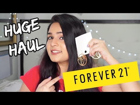 FOREVER 21 HAUL : Clothing | Accessories | Makeup