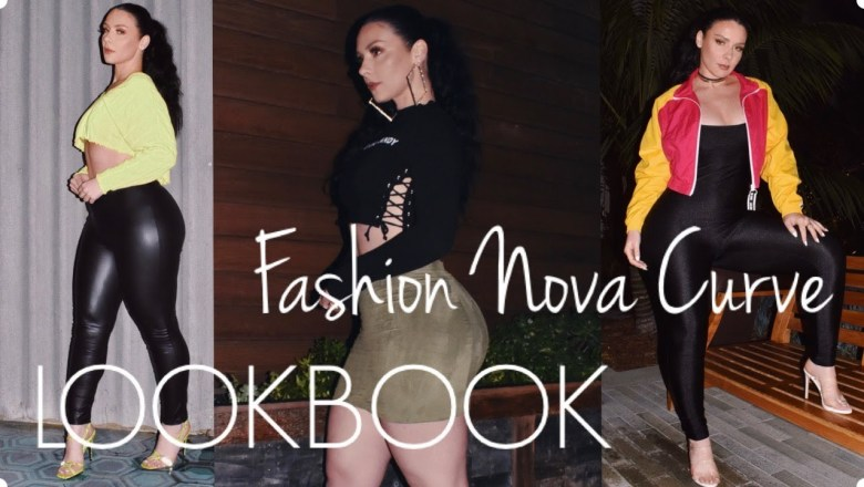 MY FASHION NOVA CURVE LOOKBOOK AND REVIEW