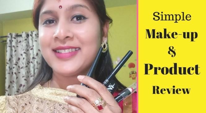 ಗೃಹಿಣಿಯರ ಸರಳ ಮೇಕಪ್ l Product Review I Kannada Vlogs