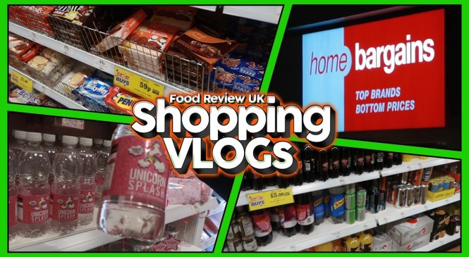 Shopping At Home Bargains, Bletchley at Night! | Shopping VLOGs