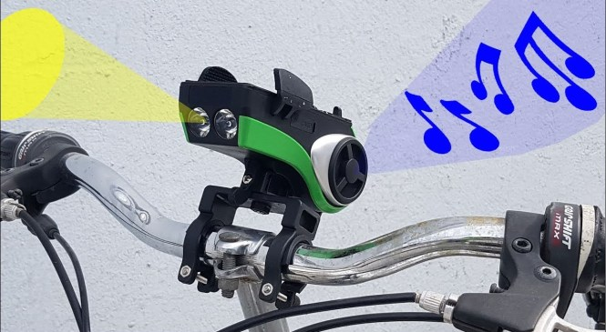 Bike Light + Speaker + Phone Holder + Horn : All-in-One – Product Review