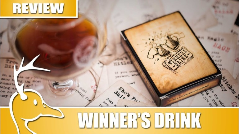 Winner's Drink – The Dick Show – (Quackalope Review)