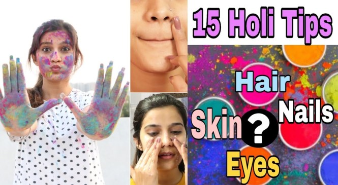 15 HOLI Hacks Jo Sabko Pata Hone Chaiye  | Best Holi Skin & Hair Care Tips | Super Style Tips