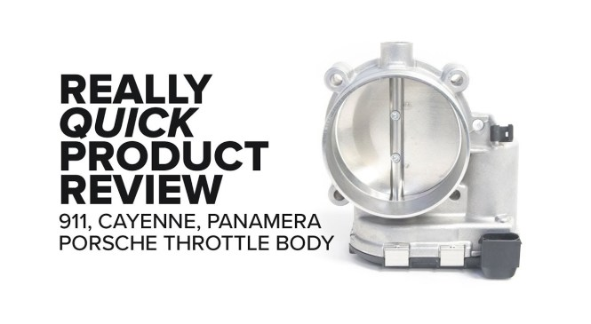 Porsche (911, Cayenne, Panamera) Throttle Body – Fitment, Specs, and Product Review