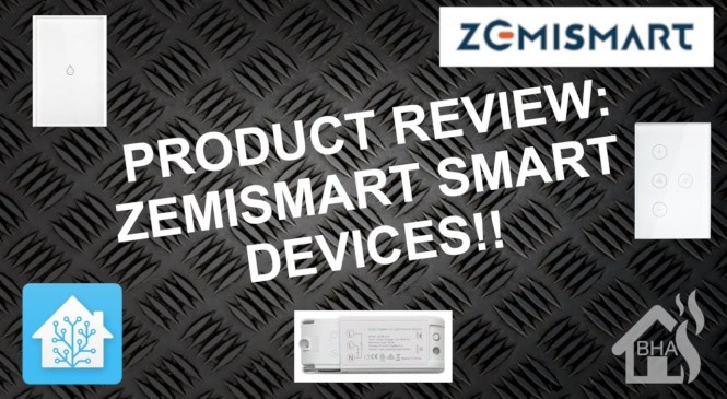 PRODUCT REVIEW: Zemismart Smart Devices!!