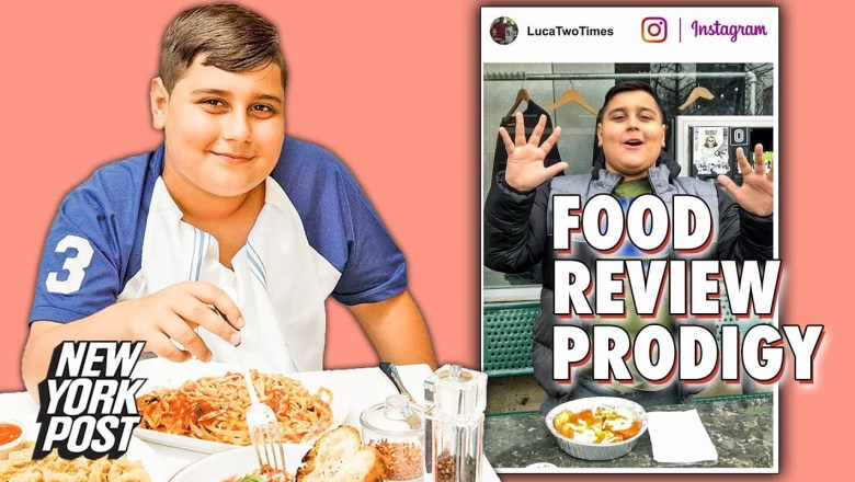 'Luca Two Times' is Instagram's 11-Year-Old Food Review Prodigy | New York Post