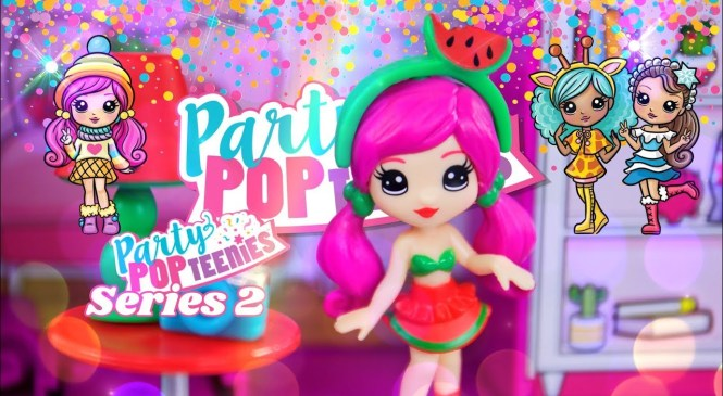 Unbox Daily: ALL NEW Party Pop Teenies Series 2 | Fashion | Accessories | Mini Dollhouses & more