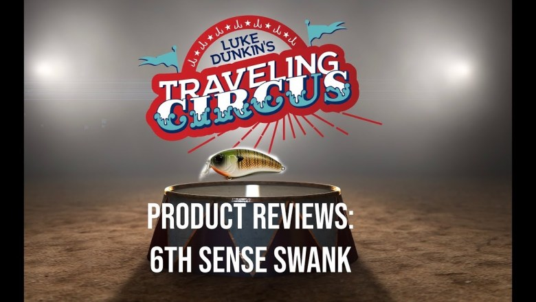 Traveling Circus Product Review Volume 1 : 6th Sense Lures Swank Crankbait