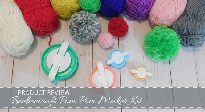 Product Review ~ Beebeecraft Pom Pom Maker Kit