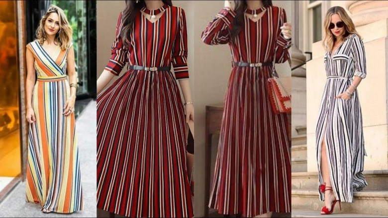 Top Class Long Dresses Fashion Trend 2019-2020