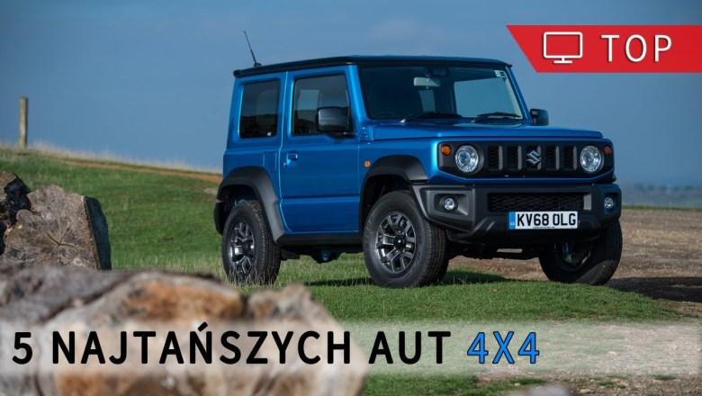 5 najtańszych aut 4×4 w Polsce | Project Automotive