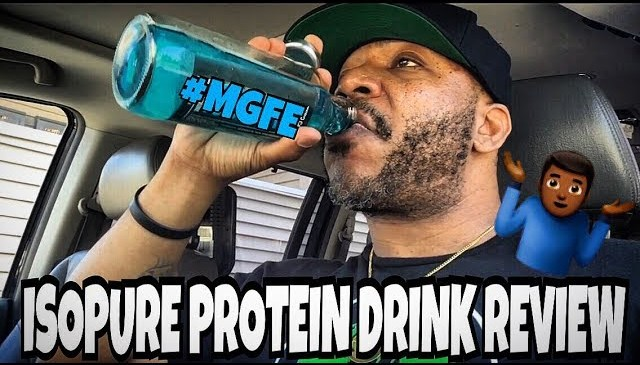 ISOPURE PROTEIN DRINK REVIEW (Blue Raspberry)