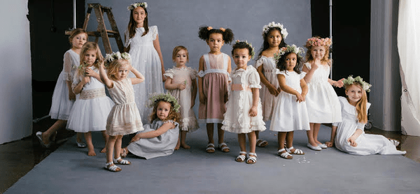 Little Ones Strut Their Style Down the Aisle