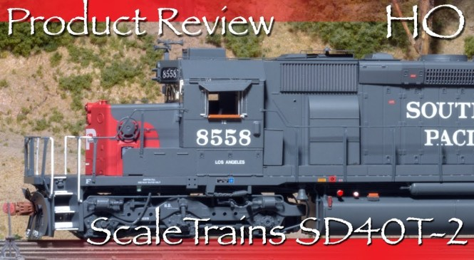 Product Review HO ScaleTrains SD40T-2 Tunnel Motor SP