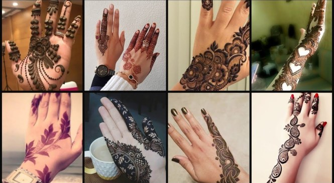 Top Mehndi Designs Trendy Fashion Trend 2019-2020