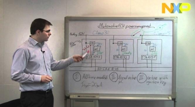 Automotive ECU power management (HS-CAN ECUs) – NXP Quick Learning 22